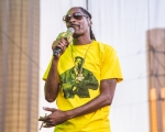 Snoop Dogg at Rock n Roll Marathon Las Vegas